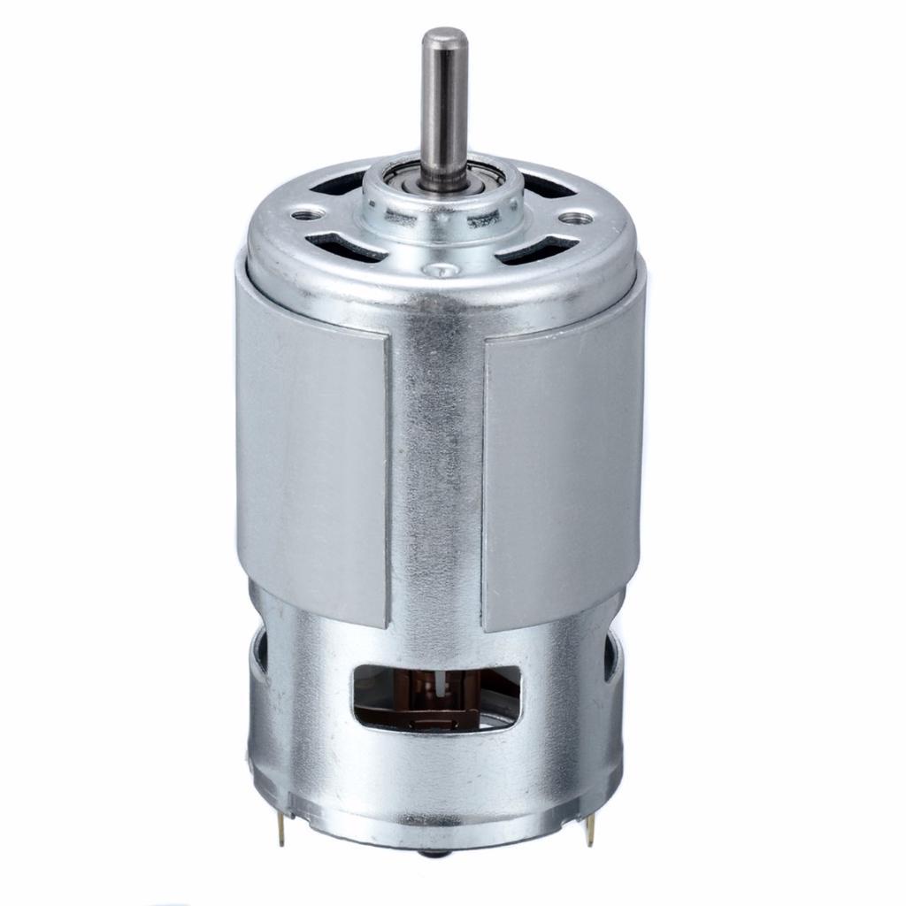 DC12-24V 150W 13000-15000RPM 775 Micro High Speed Power Motor 5mm Shaft :