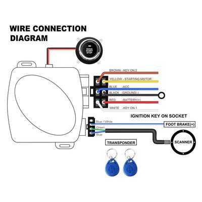 Push Start Stop Wiring Diagram on push to start car kit, push to talk wiring-diagram, push switch wiring,