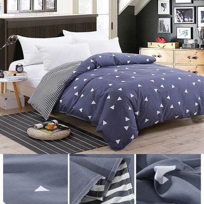 Geometric Figure Duvet Quilt Cover Pillowcases Bedding Set Twin