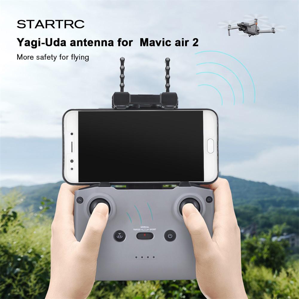 Yagi-Uda Antenna Extender Signal Booster for D-JI Mavic Air//2//Mini//Pro//Spark