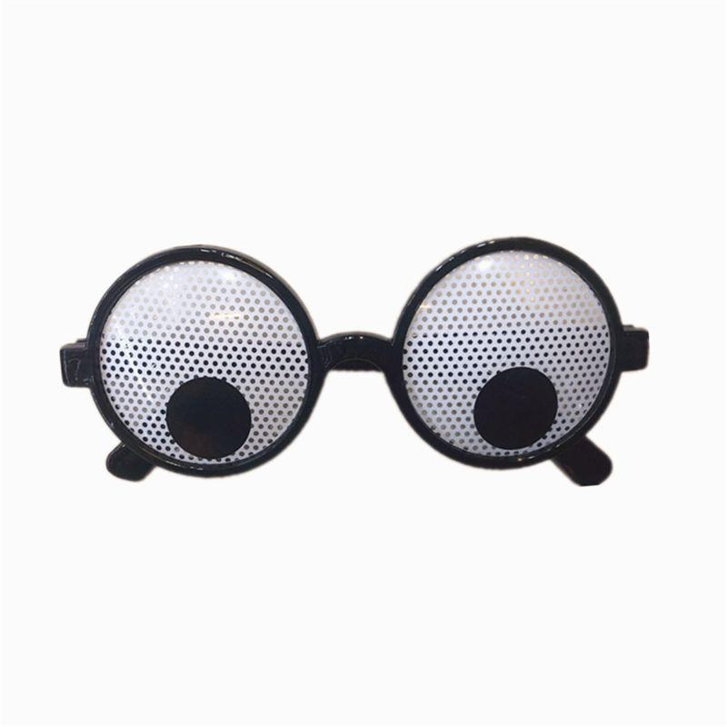 5pcs Googly Eyes Glasses Fancy Dress Eyewear Novelty Funny Party Toy