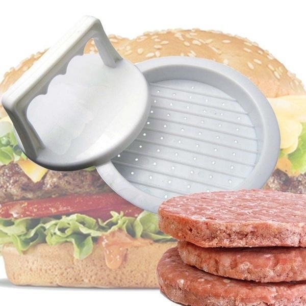 1 PCs Кухня Инструмент Пицаки Форма Гамбургер плесень Maker Круглый Мясо Минс барбекю фото