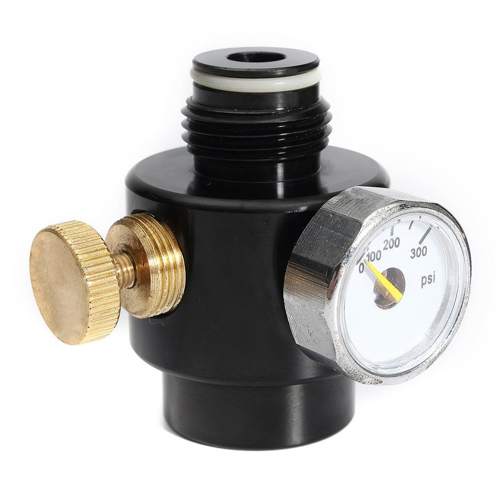 Paintball Co2 /& Compress Air Regulator Max Input 1500psi and Output 0-300psi !