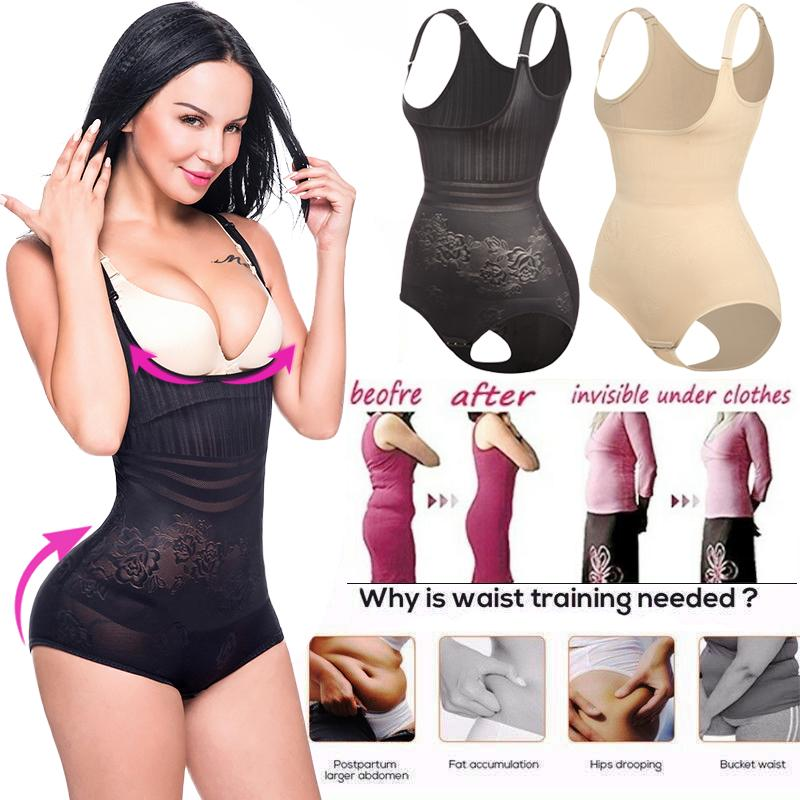 Womens Butt Lifter Body Shaper Корректирующие боди-костюмы Waist Trimmer Shapewear Slimming underwear