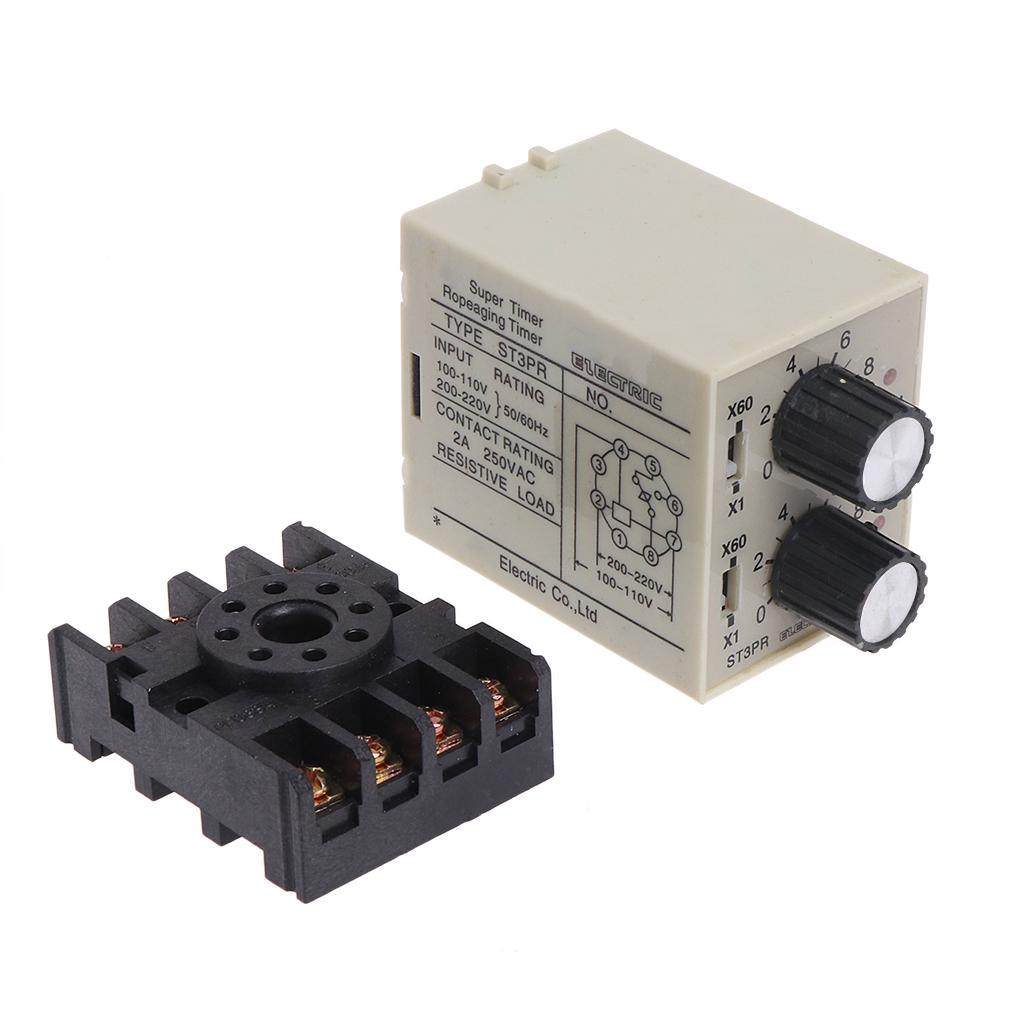 SMT4810L Solid State Relay Single Phase SMT4810L//SMT4825L DC Control AC Ultra Thin Single Phase Solid State Relay Module with Base 10A//25A