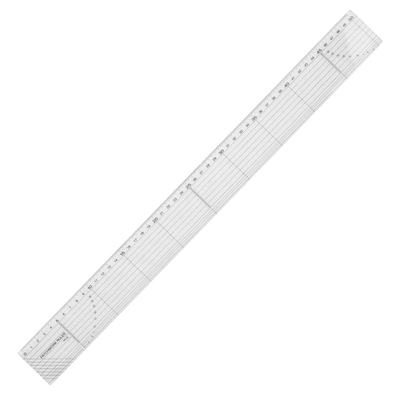 "Curve Ruler Plastic Clear French SplIne 1*3In1 11.8/"" Long Comma Shaped Practical"