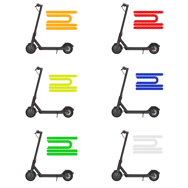 4Pcs Scooter Reflective Stickers for Xiaomi Mijia M365 Pro Electric ScooteYJS5