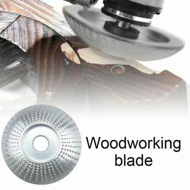 Carbide Wood Sanding Carving Grinding Shaping Disc For Angle Grinder Wheel 84mm