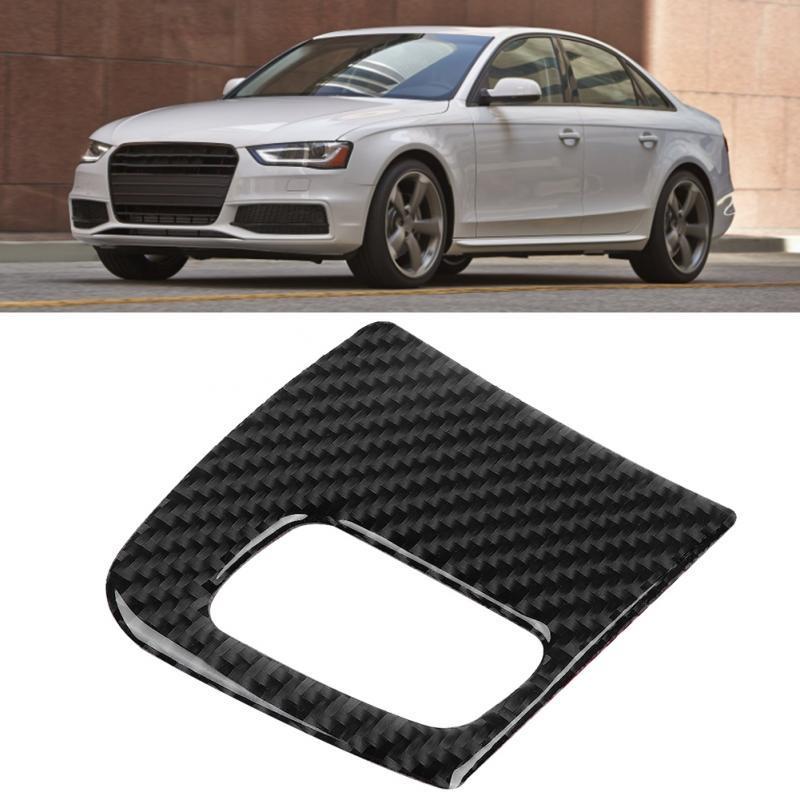 Interior Auto Seat handle Cover Mesh trim Adorn For Audi Q7 2016-2018