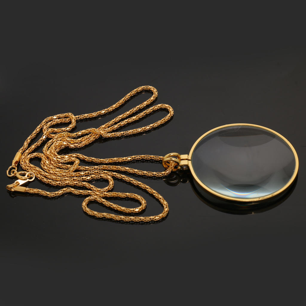 Great Grandma gift Magnifying Necklace Loupe Necklace inspirational Monocle Wearable Loupe Magnifer Magnifying Glass