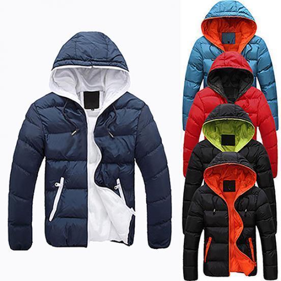 厂家直销 男士冬季新款外贸 三色入宽松 舒适 时尚潮流棉衣