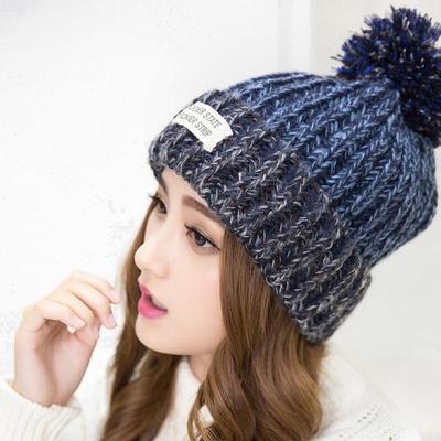 Hombres Chic moda tejido invierno holgado Slouchy sombrero Unisex Oversize 82d5dcbdc42