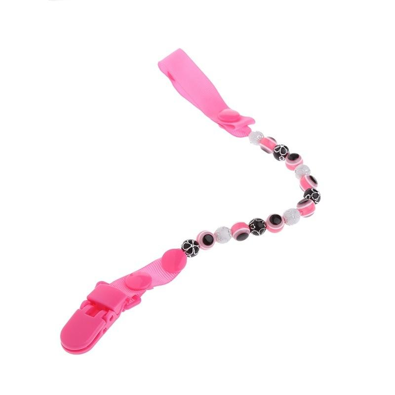 Baby Anti-lost Hot Clip Holder Dummy Pacifier Soother Nipple Leash Strap Chain