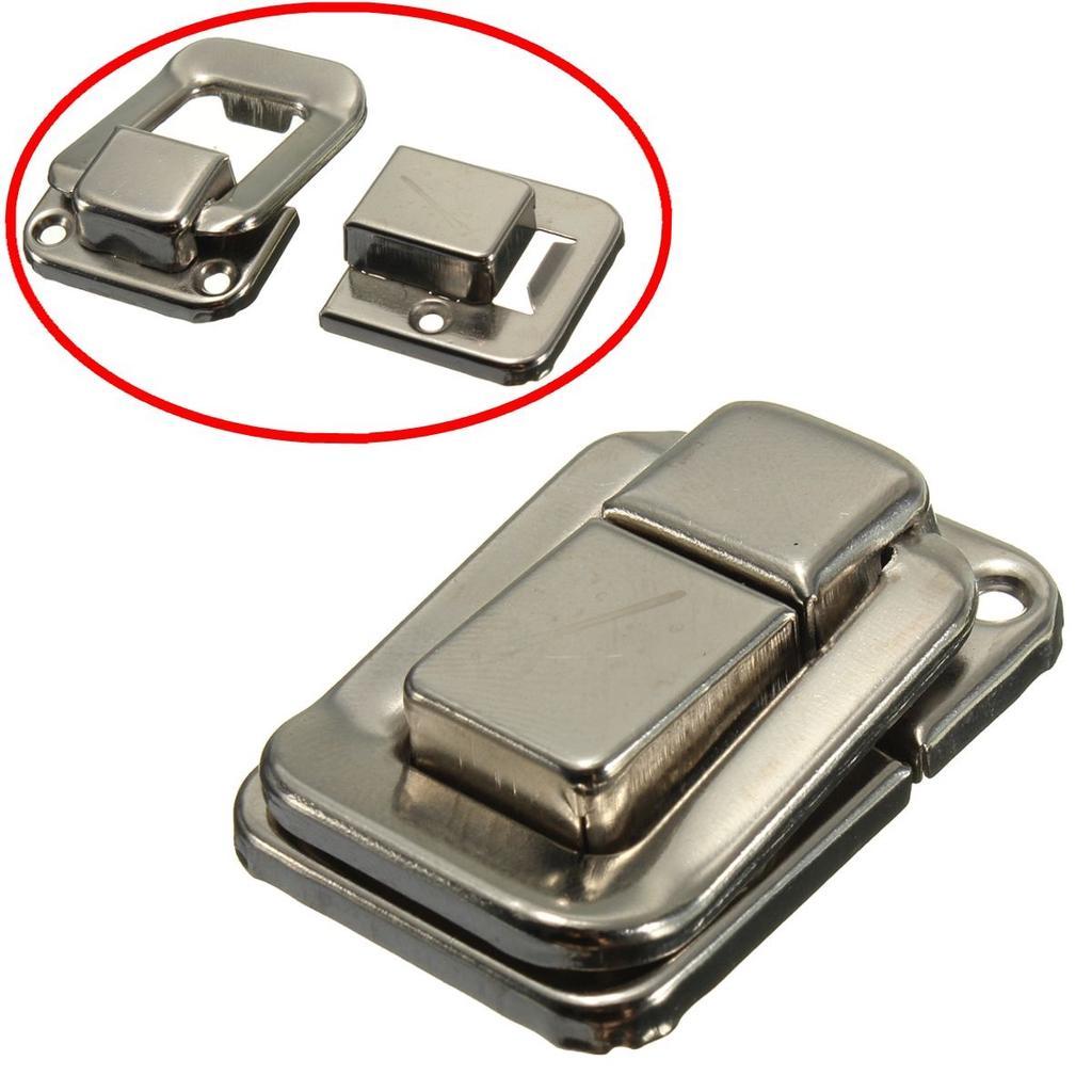 4Pcs Toggle Latch Lock Suitcase Box Trunk Chest Suitcase Catch Flight Case Clasp