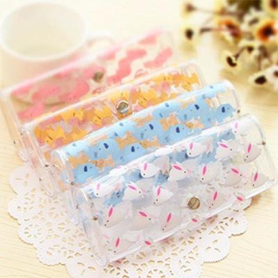 Large 1pcs/bag Cute Children Plastic Transparent Myopic Glasses Box