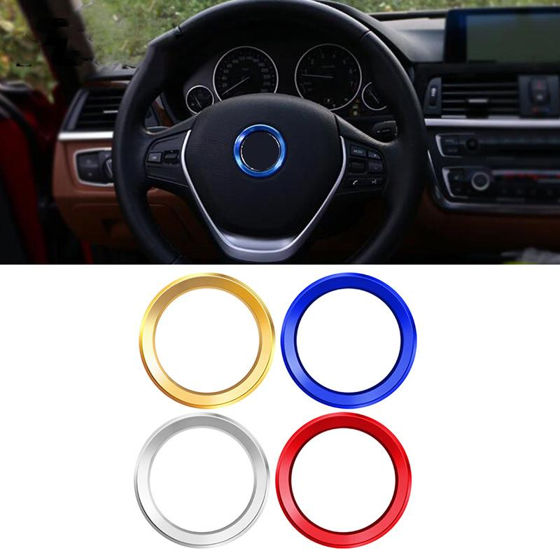 Car button covers round Decorative Ring Sticker For BMW 1//2//3//4 Series New X1