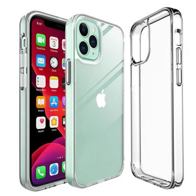 Transparent Case for IPhone 13 12 / Pro / Pro Max TPU Silicon Fitted Bumper Soft Case for IPhone 11 Pro Max Xs Xr 7 8 Plus Clear Back Cover