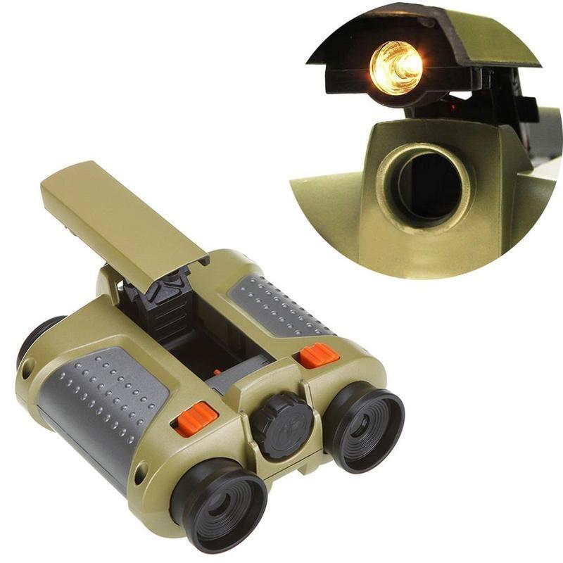 4x30mm Night Vision Fernglas mit Teleskop Licht Spielzeug für Kinder ...