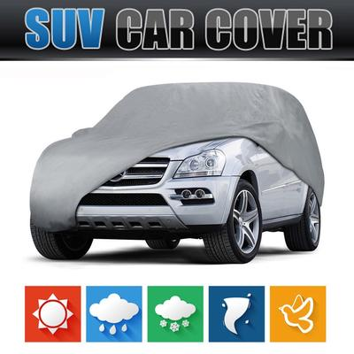 M//L//XL SUV Full Car Cover 420D Oxford Waterproof Snow Rain Resistant Protection