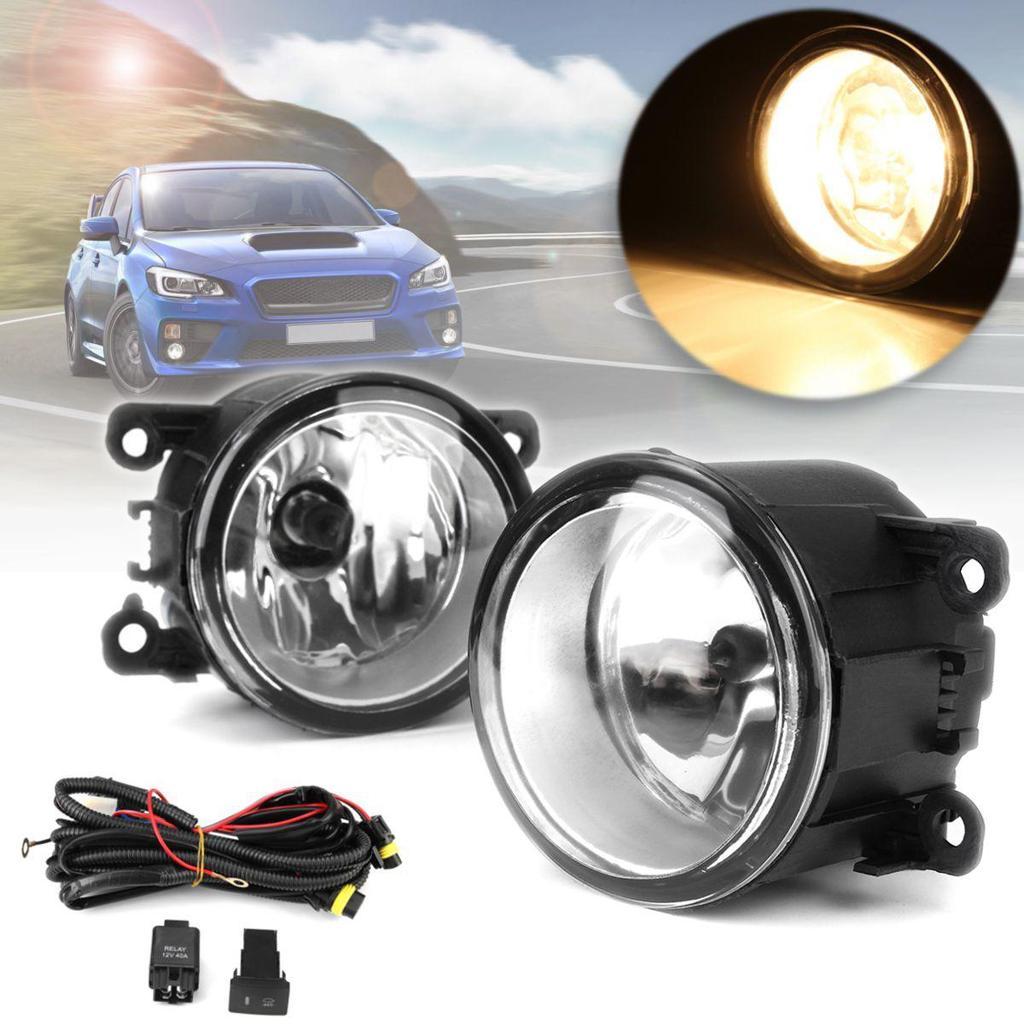 2X For 2012 2013 2014 2015 Subaru Impreza XV Crosstrek LED Fog Light Bumper Lamp