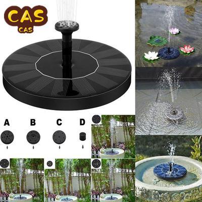 Solar Power Pump Bird Bath Fountain Water Floating Pond Garden Patio Decor