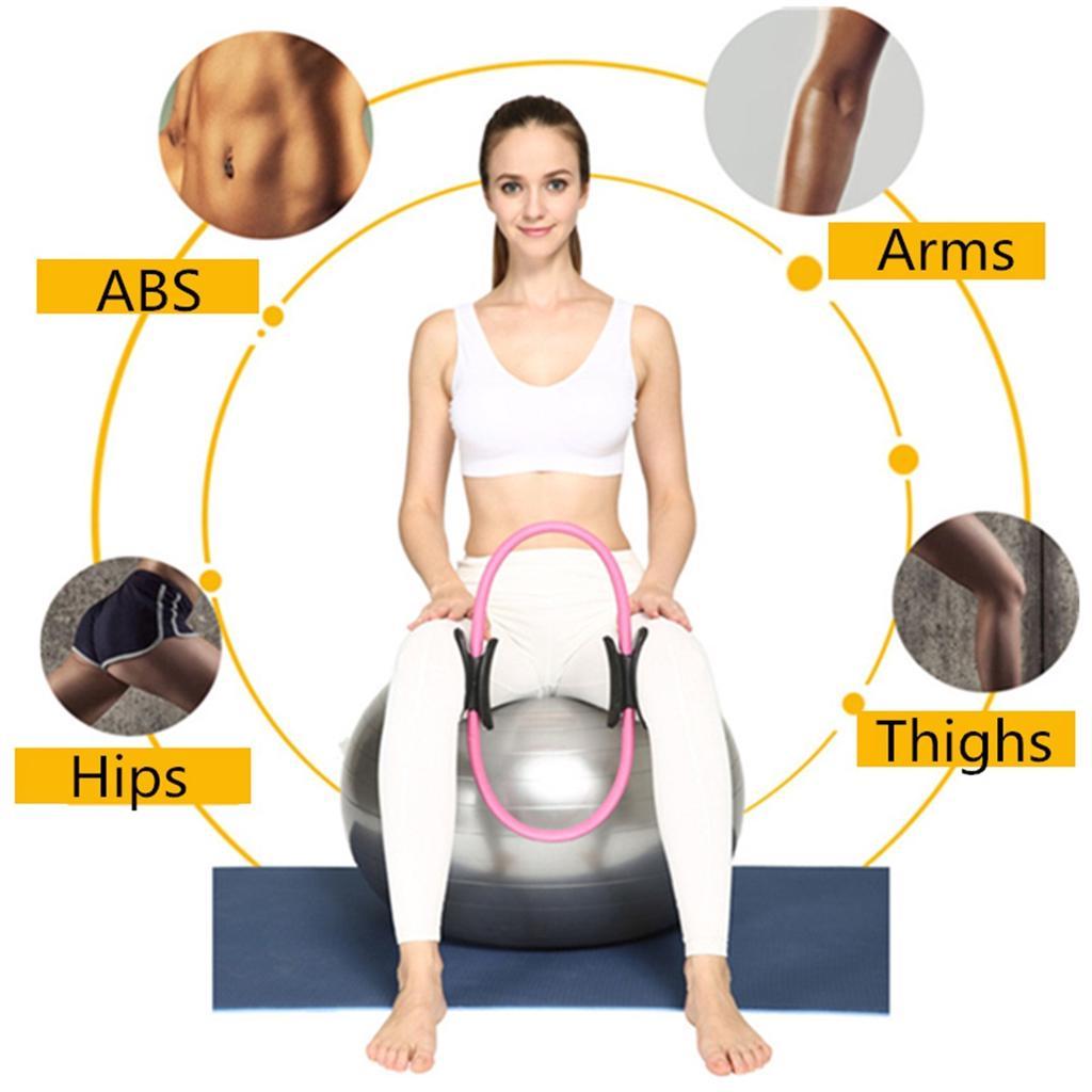 Pilates Ring Magic Circle Grip Sporting Goods Yoga Ring Exercise Massage Lo Z.YU