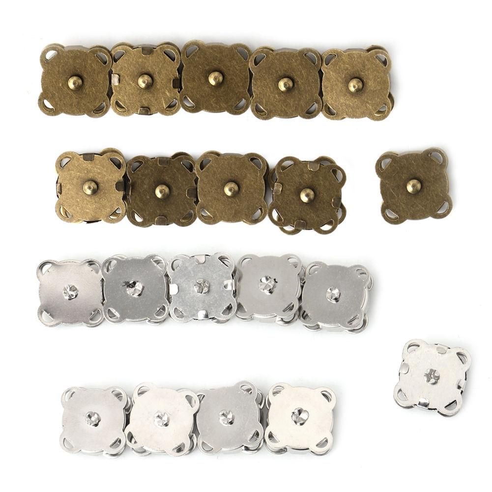 18mm Diameter Purse Closures Magnetic Snaps Buttons Clasps 10 Pcs