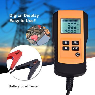 12V Smart Digital Battery Tester Voltmeter Alternator