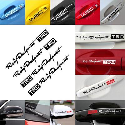 Car777 Car Decals Car Styling Sports Mind Sticker Emblem Badge Decal Auto Headlight Bonnet Sticker Black 19x7cm