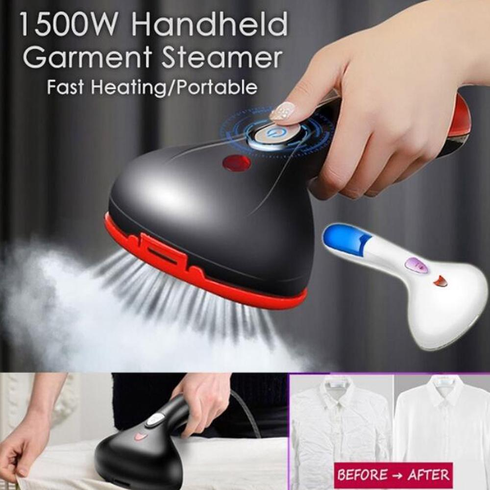 1500W Handheld Clothes Steamer Garment Portable Fabric Steam Heat Iron UK H