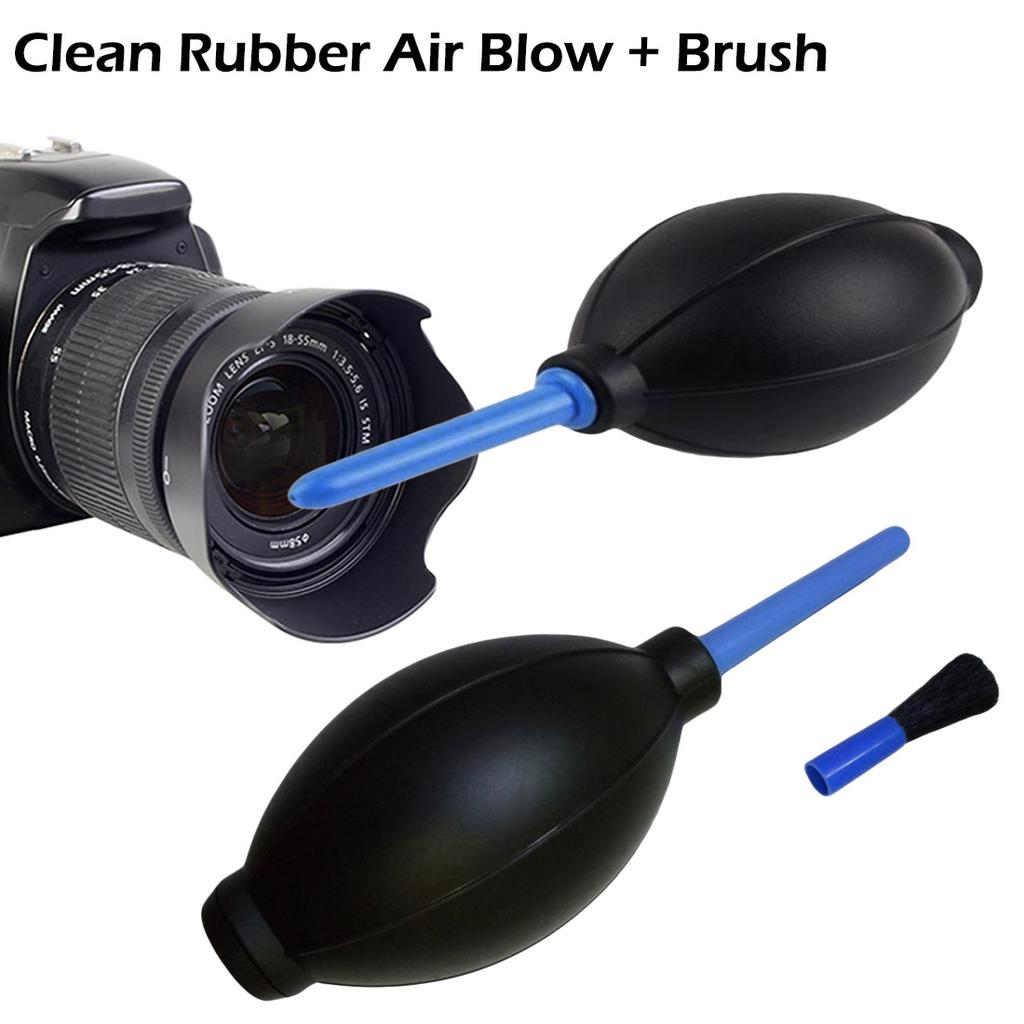 Brush For Digital Camera Lens H5 Rubber Hand Air Pump Dust Blower Cleaning Tool