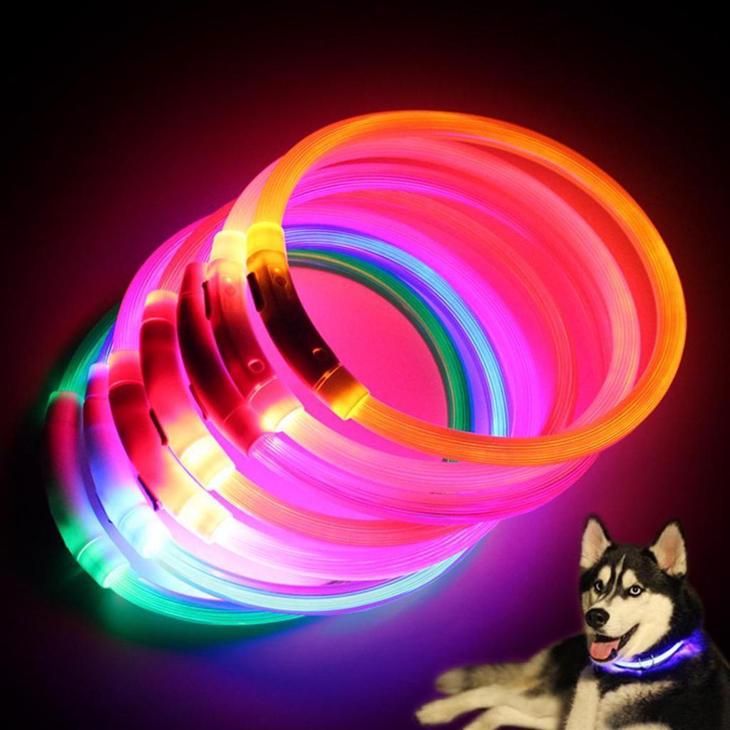 Аккумуляторный светодиодный ошейник для животных – купить по низким ценам в интернет-магазине Joom