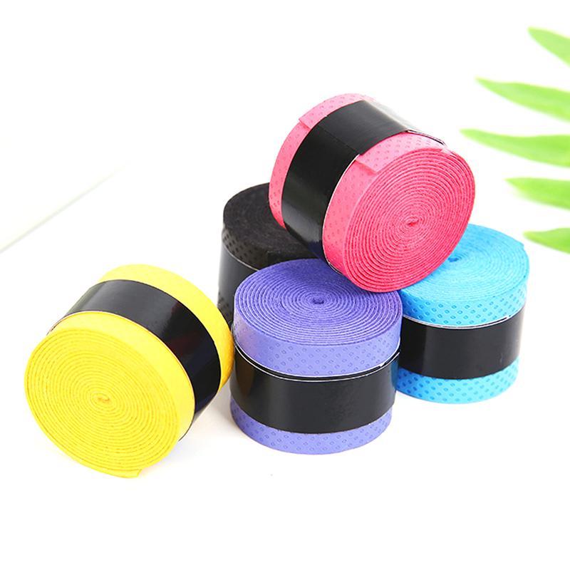 Anti Slip Racket Over Grip Roll Tennis Badminton Squash Handle Tape New