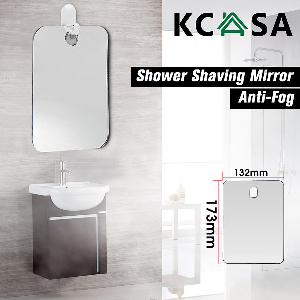 Kcasa Br 86 Portable Shaving Shower Mirror Anti Fog Shower Mirror For Bathroom And Travel Buy At A Low Prices On Joom E Commerce Platform