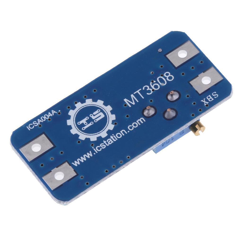 Details about  /10PCS MT3608 2A DC-DC Step Up Power Apply Module Booster Power Module Arduino AM
