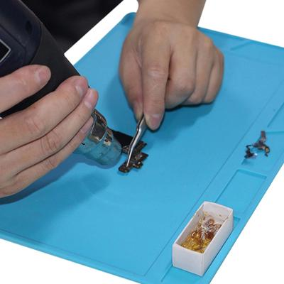 Heat For Silicone Magnetic Insulation Mat With Soldering Pad