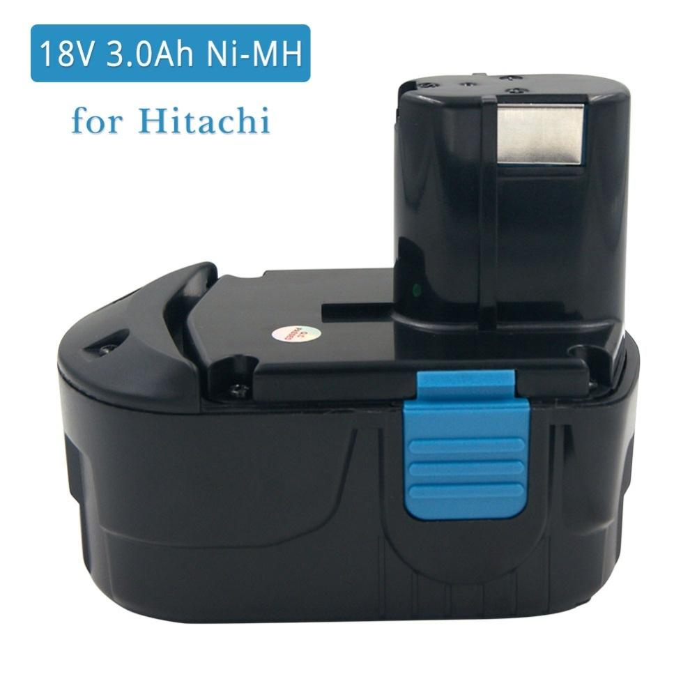 DV 18DMR G18DL DS 18DL 3000mAh Battery For 18V HITACHI EB 1830HL RB 18DL
