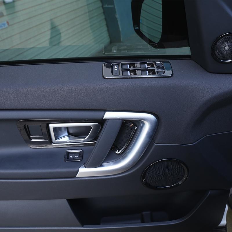 Inner Car Door Armrest Window Lift Cover Trim For Discovery Sport 2015-2018