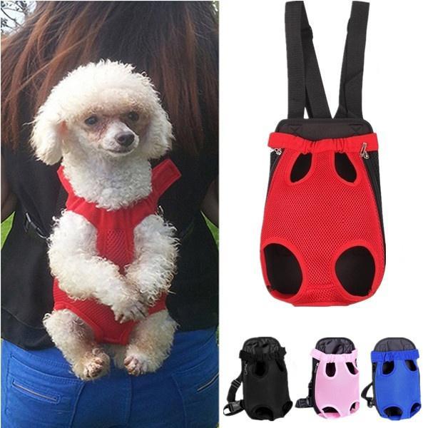 Dog Carrier Cat Puppy Pet Front//Back Backpack Shoulder Carry Sling Bag Pouch UK0