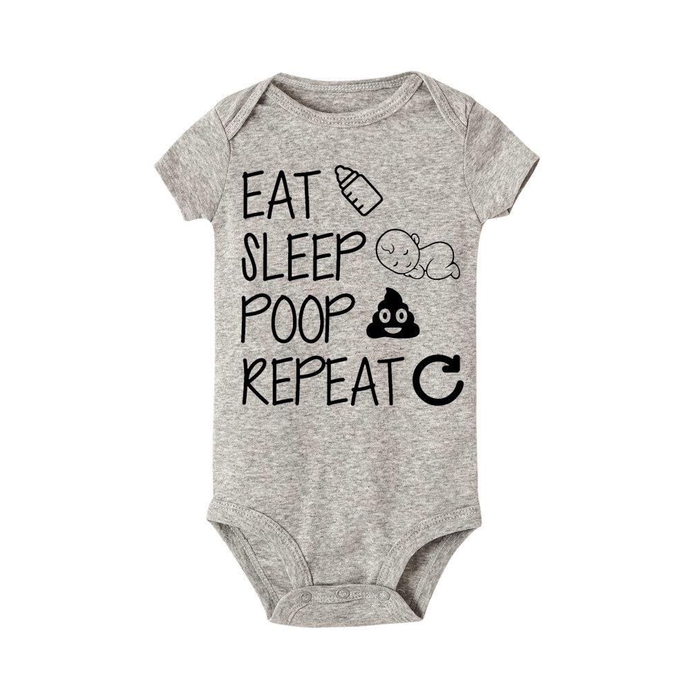 Newborn Soft Cotton Romper Jumpsuit Baby Boy Girl Kids Infant Bodysuit Outfit