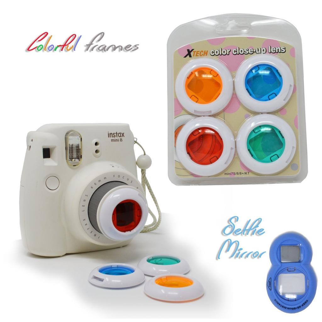 CAIUL 7 in 1 Fujifilm Instax Mini 8 Instant Film Camera Accessories Bu Source · 1 of 9