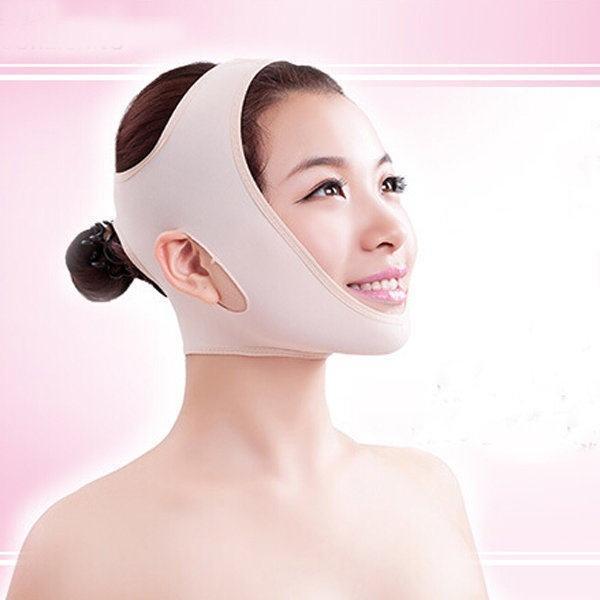 Wrinkle V Face Chin Cheek Lift Up Slimming Slim Mask Ultra-thin .