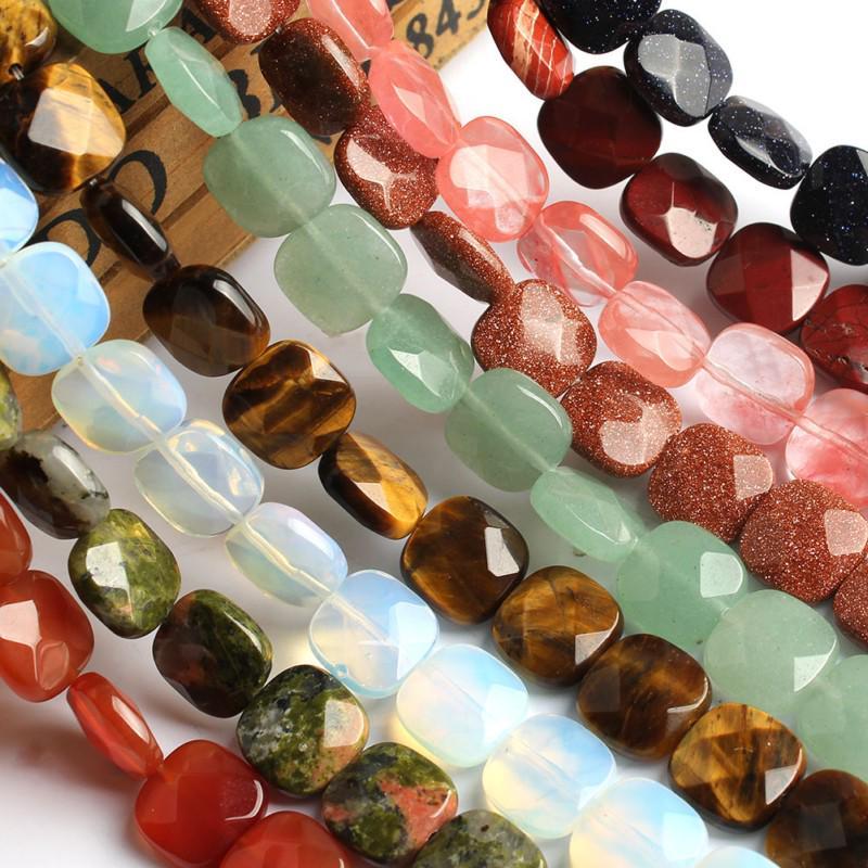 Natural Pink Opal Faceted Rondelle Shape Gemstone Beads Strand 10 6mm 8mm