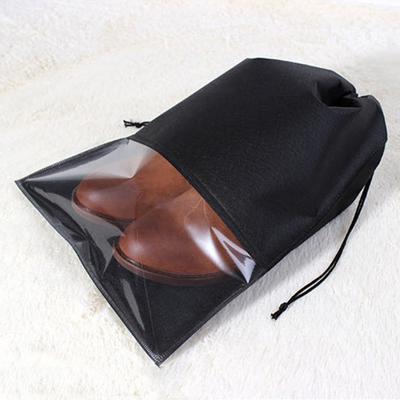 fbf1df450f47 S/Л Водонепроницаемая обувь шнурок хранения сумка сумка путешествия  Организатор мешок нетканый Прачечная Organizador