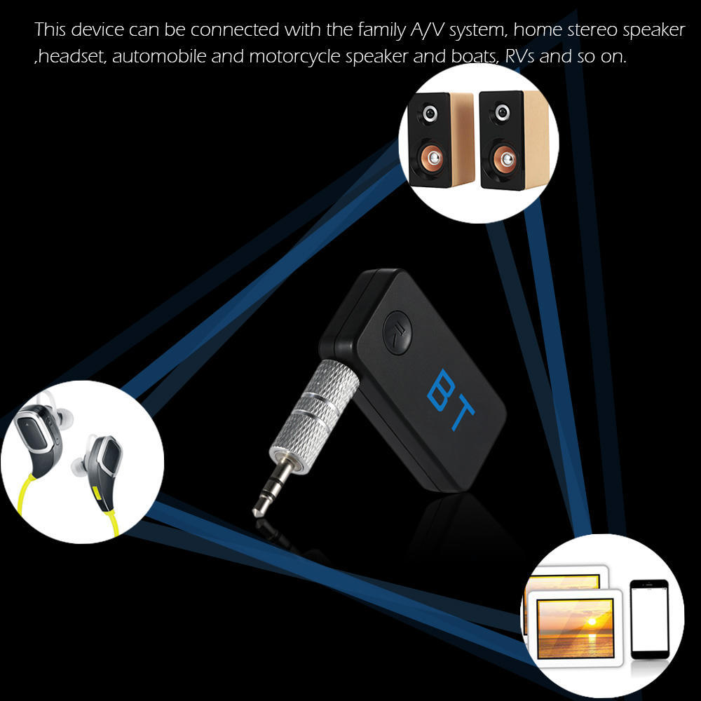 Wireless Receiver Stereo Bluetooth30 Kit Da 35mm Aux Car Audio Automotive Wiring For Home Speakers 2 Of 10