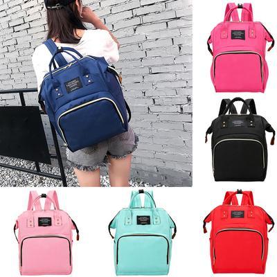 Mummy Bag Nappy Bottle Bag Large Capacity Baby Bag Travel Backpack Nursing Bag