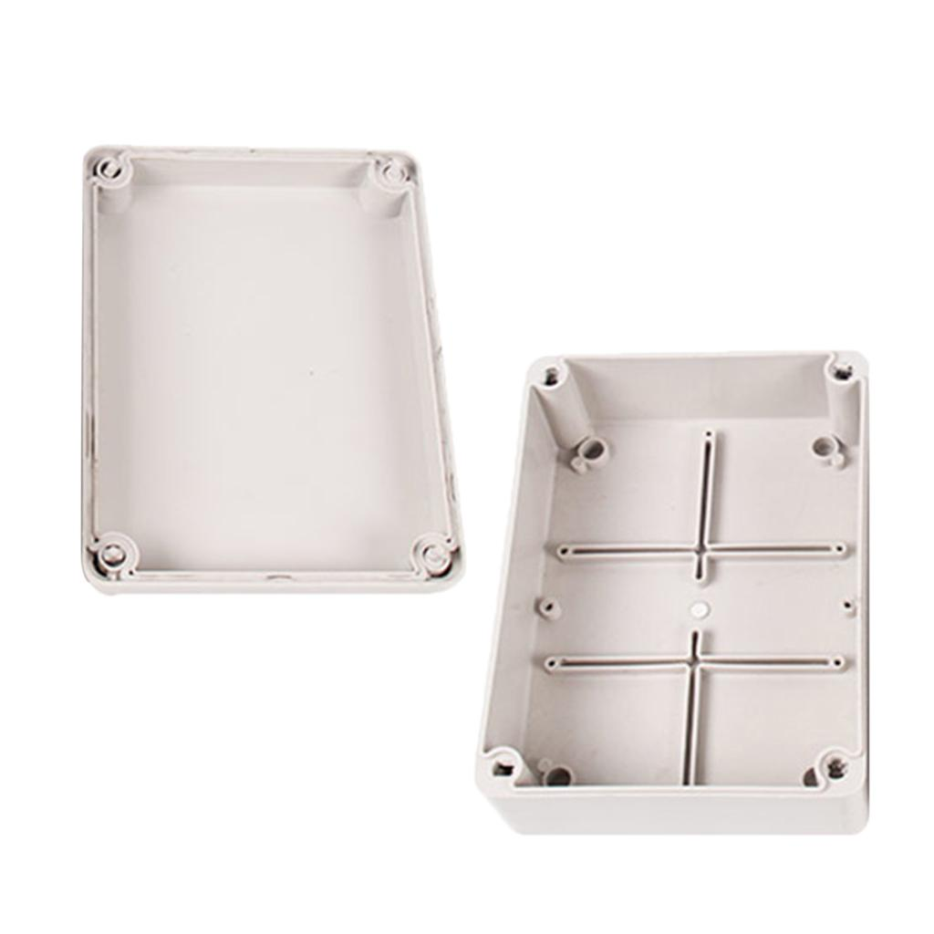 NEW Waterproof Plastic Cover Project Electronic Instrument Case Enclosure Box V0
