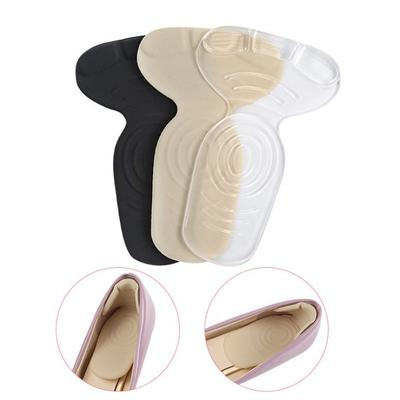 2x T-Shape Silicone Non Slip Cushion Foot Heel Protector Liner Shoe Insole Pads
