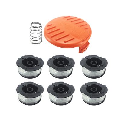 Strimmer Head Spools Kit For ALM Qualcast CDB30A Lawn Mower Trimmer Spare Parts