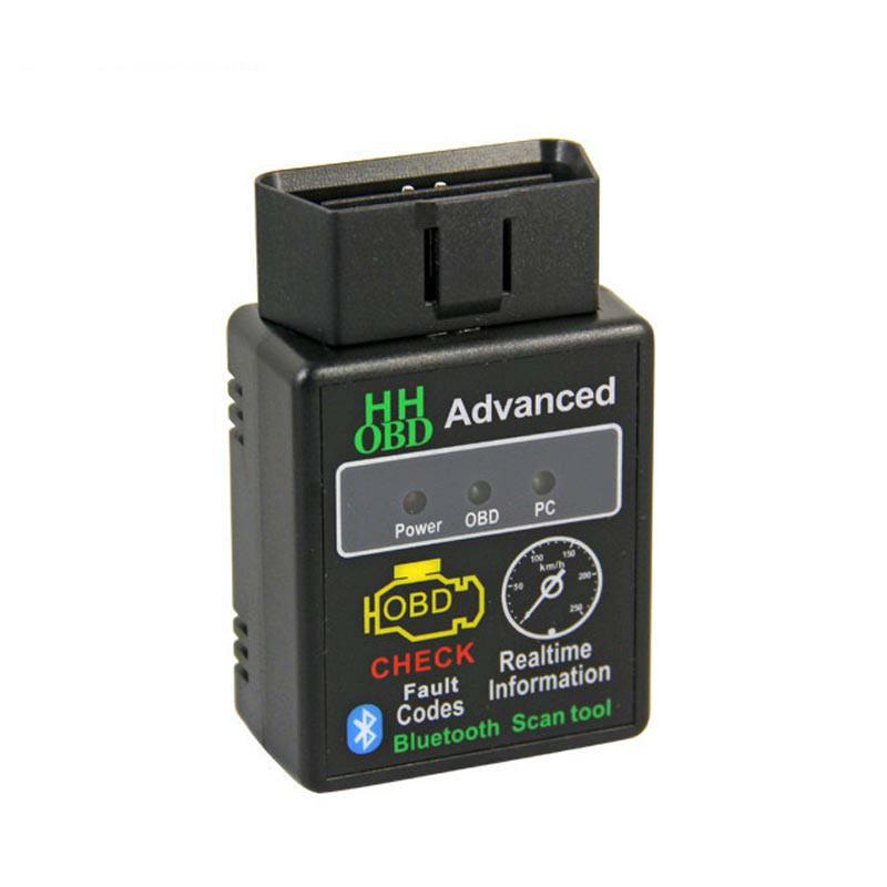HH OBD V2.1蓝牙ELM327 Bluetooth obd2 汽车油耗 汽车故障诊断仪